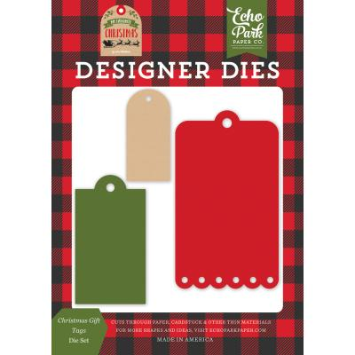 Echo Park My Favorite Christmas Stanzschablonen - Christmas Gift Tags