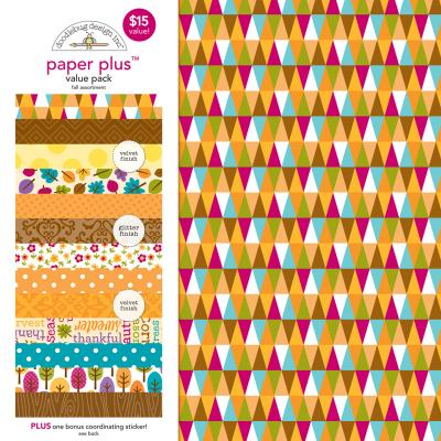 Doodlebugs Paper Plus Pack - Fall