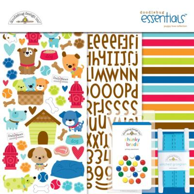Doodlebugs Puppy Love - Essentials Kit