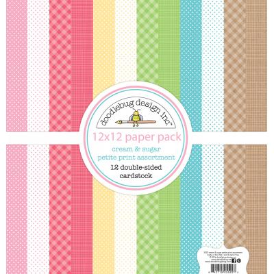 Doodlebug Cream & Sugar - Petite Print Assortment