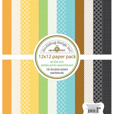 Doodlebugs At the Zoo - Petite Print Assortment Pack