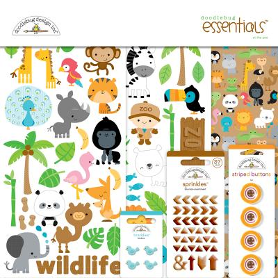 Doodlebugs At the Zoo - Essentials Kit
