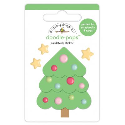 Doodlebugs Christmas Town - Sweet Spruce