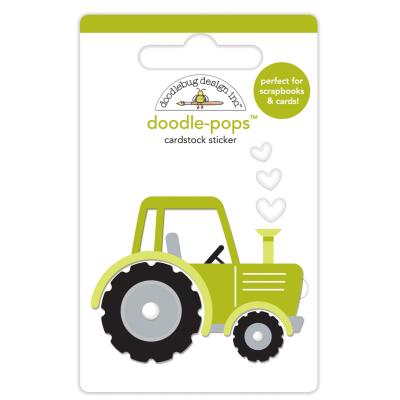 Doodlebugs Down on the Farm - Doodle-Pops - Trusty Tractor