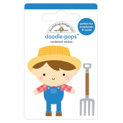 Doodlebugs Down on the Farm - Doodle-Pops - Farmer Joe