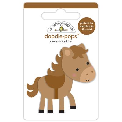 Doodlebugs Down on the Farm - Doodle-Pops - Giddy Up
