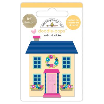 Doodlebug Hello - Cute Cottage