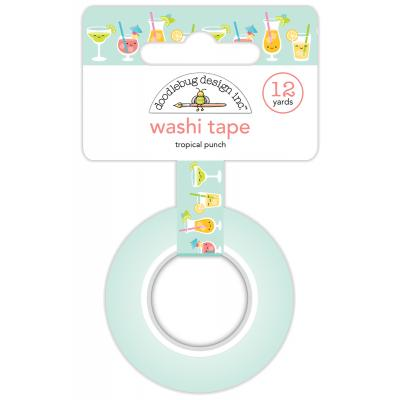 Doodlebug Sweet Summer Washi Tape - Tropical Punch