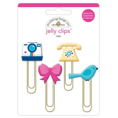 Doodlebug Hello - Hello Jelly Clips
