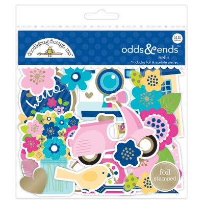 Doodlebugs Hello - Odds & Ends
