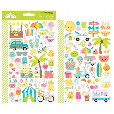 Doodlebug Sweet Summer - Mini Icons Sticker