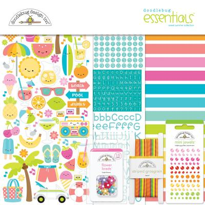 Doodlebug Sweet Summer - Essentials Kit