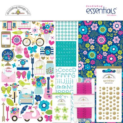Doodlebug Hello - Essentials Kit