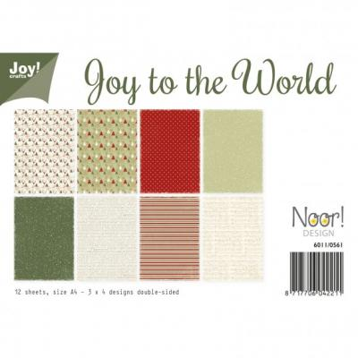 Joy!Crafts Papierset A4 3x4 200g Joy World Designpapier