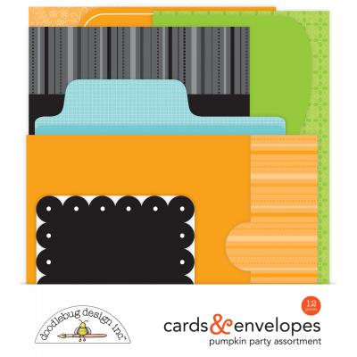 Doodlebugs Pumpkin Party - Cards & Envelopes