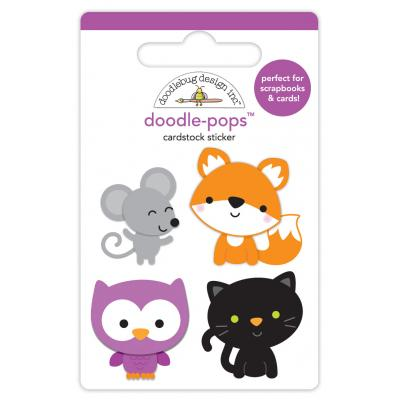 Doodlebugs Pumpkin Party - Forest Friends