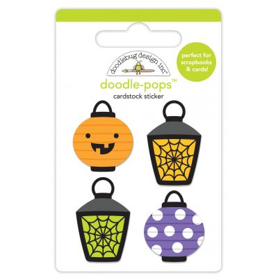 Doodlebugs Pumpkin Party - Party Lights