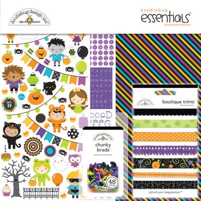 Doodlebugs Pumpkin Party - Essentials Kit