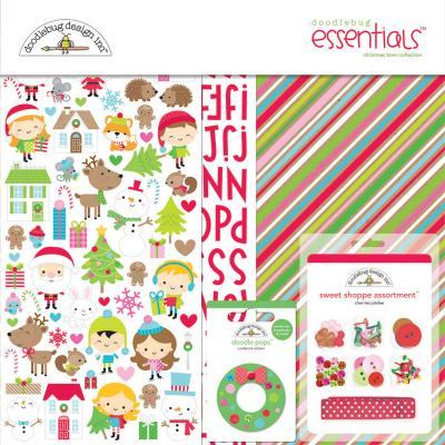 Doodlebugs Christmas Town - Essentials Kit