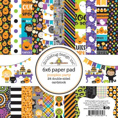 Doodlebugs Pumpkin Party - 6x6 Paper Pad