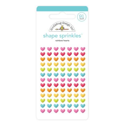 Doodlebugs Lots o' Luck - Rainbow Hearts