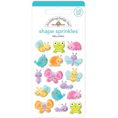 Doodlebugs Simply Spring - Little Critters