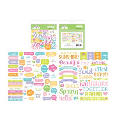Doodlebugs Simply Spring - Chit Chat