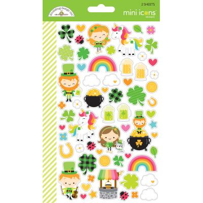 Doodlebugs Lots o' Luck - Mini Icons Sticker