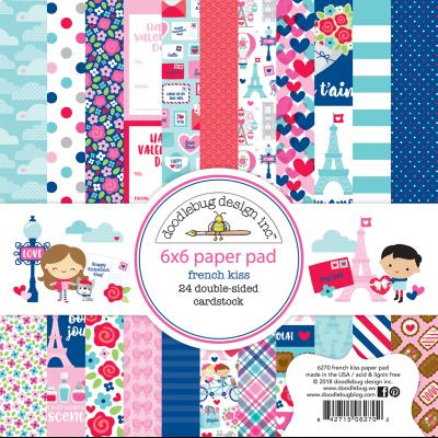 Doodlebugs French Kiss - Paper Pad