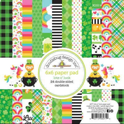 Doodlebugs Lots o' Luck - Paper Pad