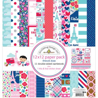 Doodlebugs French Kiss - Collection Kit