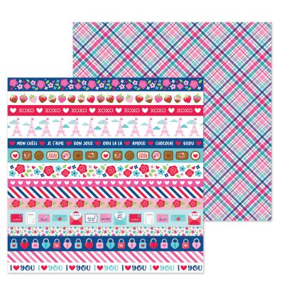 Doodlebugs French Kiss - Passion for Plaid