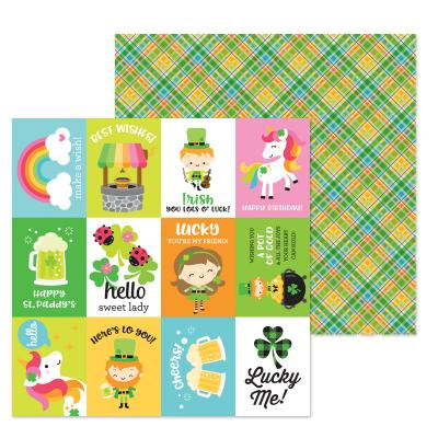 Doodlebugs Lots o' Luck Designpapier - Pot o' Gold