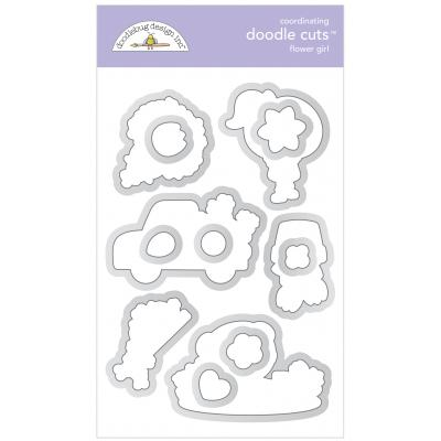 Doodlebugs Doodle Cuts - Simply Spring - Flower Girl