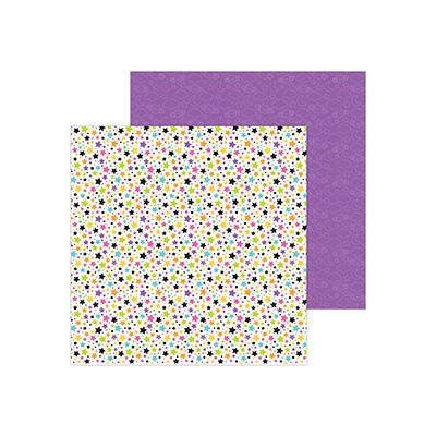 Doodlebugs Candy Carnival Designpapier - Star Attraction