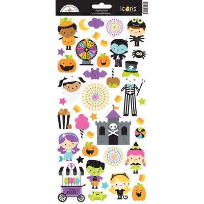 Doodlebugs Candy Carnival - Icons Cardstock Sticker