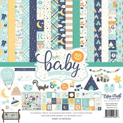 Echo Park Hello Baby Boy - Collection Kit