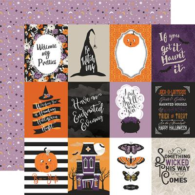 Echo Park Bewitched - 3x4 Journaling Cards