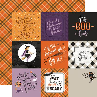 Echo Park Bewitched - 4x4 Journaling Cards