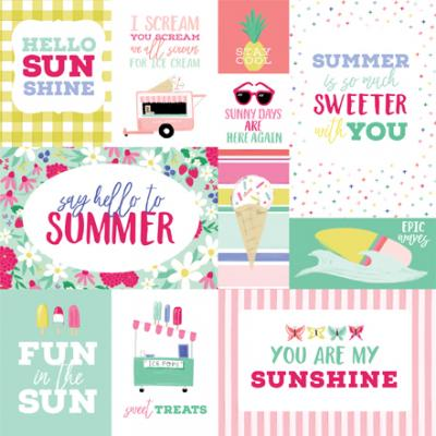 Echo Park Best Summer Ever - Multi Journaling Cards