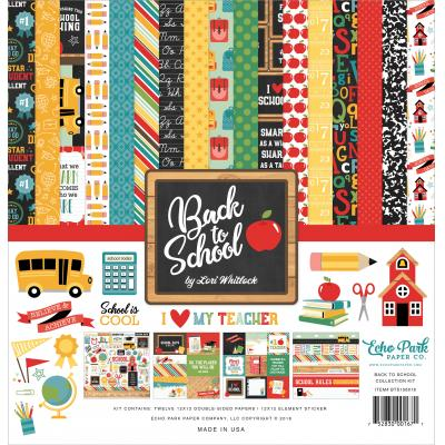 Echo Park Back to School - Collection Kit