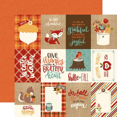 Echo Park Celebrate Autumn - 3x4 Journaling Cards