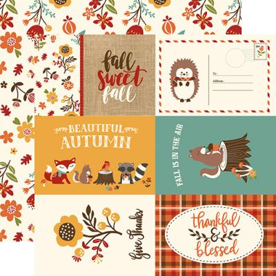 Echo Park Celebrate Autumn - 4x6 Journaling Cards