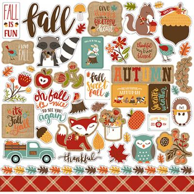 Echo Park Celebrate Autumn - Stickerbogen