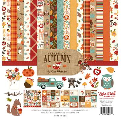 Echo Park Celebrate Autumn - Collection Kit