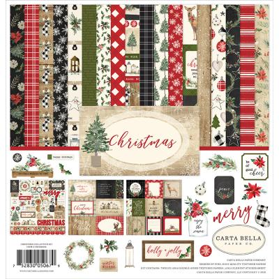 Carta Bella Christmas Designpapier - Collection Kit