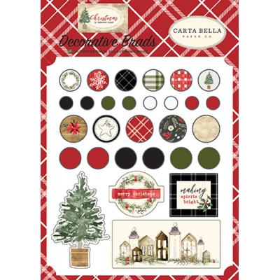 Carta Bella Christmas - Decorative Brads