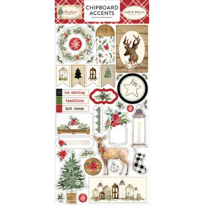Carta Bella Christmas - Chipboard Accents