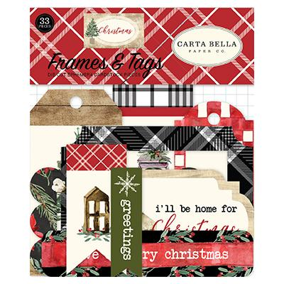 Carta Bella Christmas - Frames & Tags