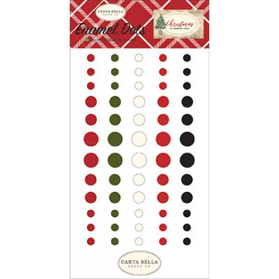 Carta Bella Christmas - Enamel Dots